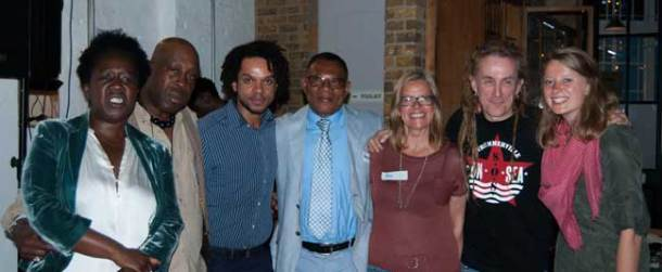 Panelists at the Brixton Fund decision meeting on who gets funding