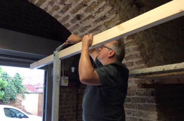 Making the canopy frame