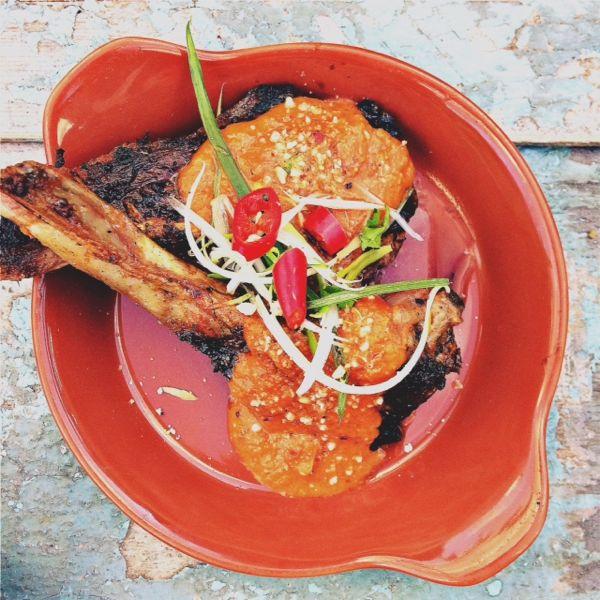 Zoe's Ghana Kitchen Lam Cutlets