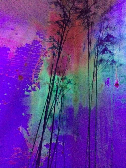Elli Popp wallpaper at Arches Brixton Creatives
