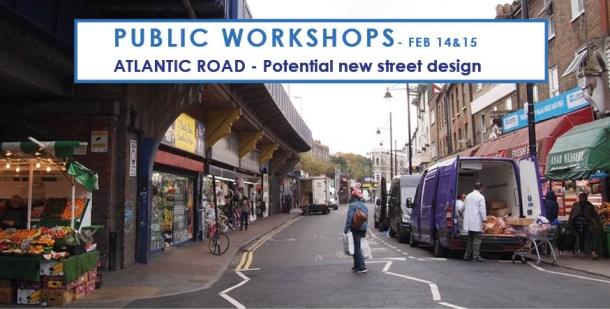 flyer for public consultation on future of Atlantic Road