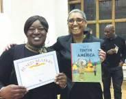 Ruskin Readers Tutor Rae Stoltenkamp (right) with Tracey Cameron