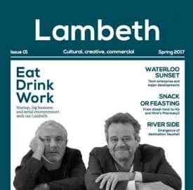 Lambeth magazine cover