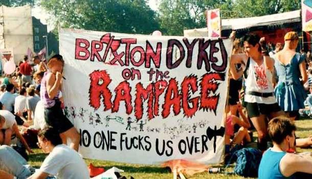 Rebel Dykes of Brixton banner
