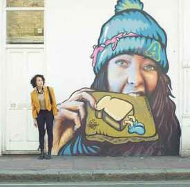 Still from A Moving Image: Tanya Fear in Brixton