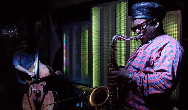 Sunday night is live jazz/reggae night in Brixton: photos from the