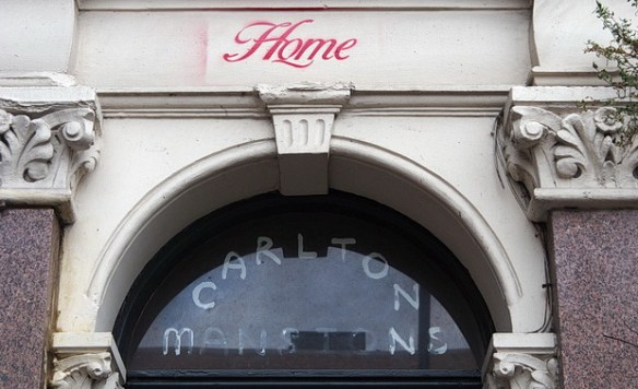 The last days of Carlton Mansions, the evicted housing co-op