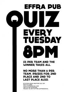 The Brixton Pub Quiz Guide