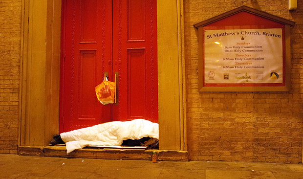 Some 30 rough sleepers refused emergency shelter last night as temperatures plunged