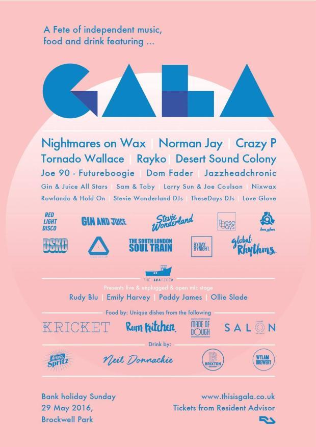 Brockwell Park's festival season kicks off with GALA