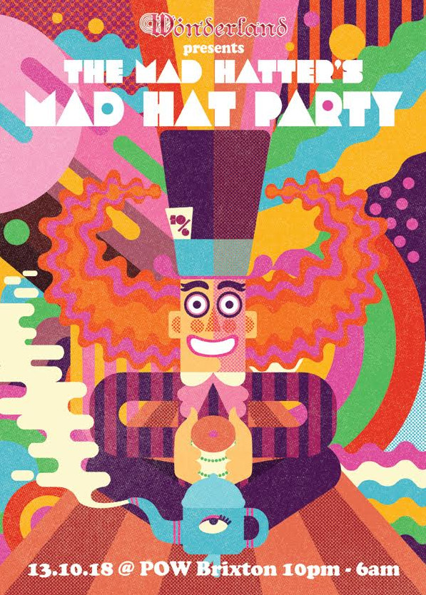 a6afbd18840c6 Brixton Wonderland  The Mad Hatter s Mad Hat Party