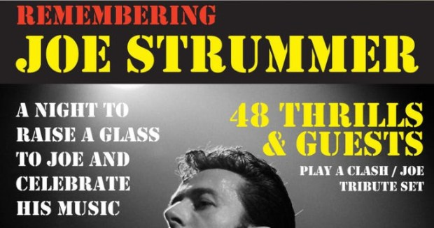 58c088c05525 Remembering Joe Strummer – Celebrating The Clash