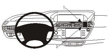 ProClip Monteringsbygel Citroen C4 Picasso II 13-15
