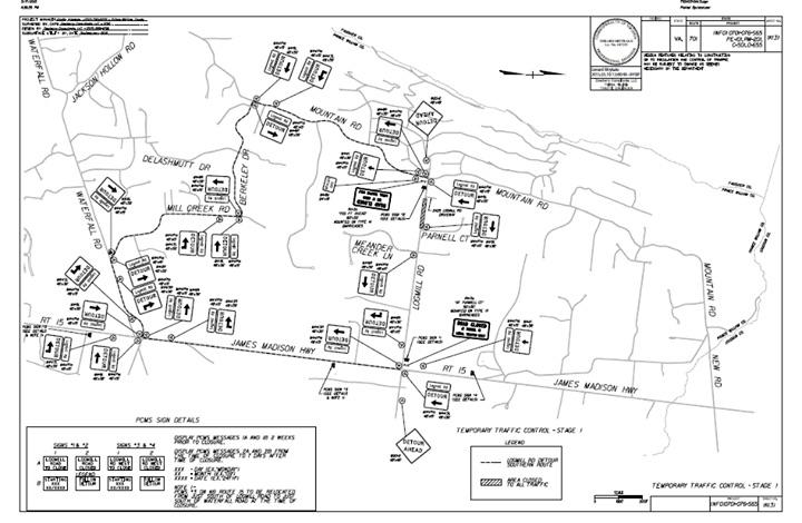 Detour Maps :: Bull Run Mountain Civic Association