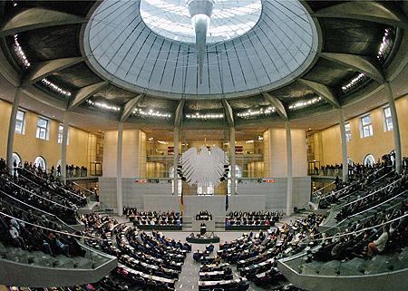 Bundestag Präsentation
