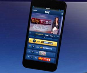 Sky Go on Sky Italia (mobile)