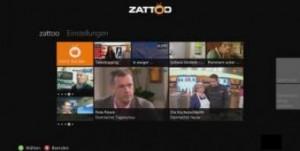 Zattoo App on Xbox 360