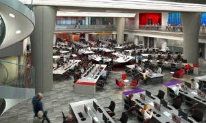 BBC Broadcasting House: new newsroom