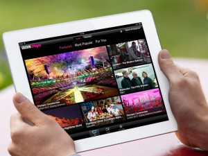 BBC iPlayer tablet