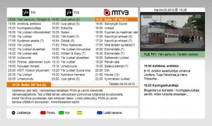 Digita EPG on HbbTV