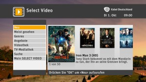 Select_Video_MainMenu (Kabel Deutschland)