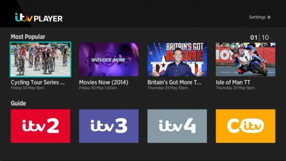 ITV Player (June 2014)