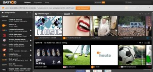Zattoo Web Screenshot 2014