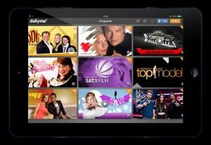 dailyme TV iPad Air