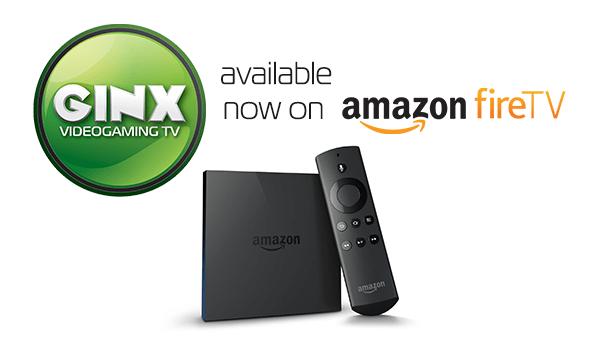 Ginx on Amazon Fire TV