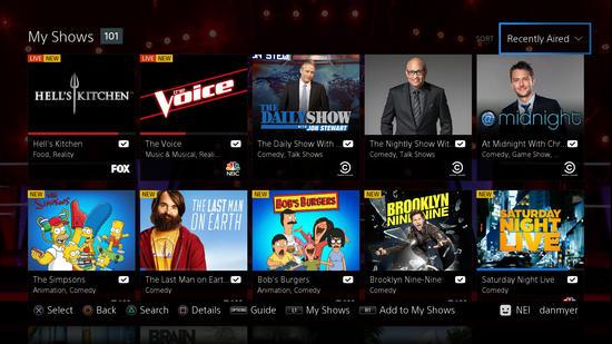 Sony-vue-tv-onPlayStation