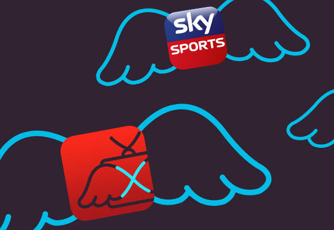 Virgin TiVo to Go Sky Sports