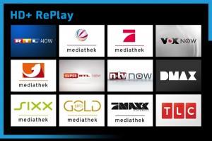 HD+ RePlay Mediatheken