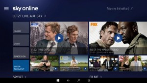 Sky Online Windows 10 Tablet_HOME