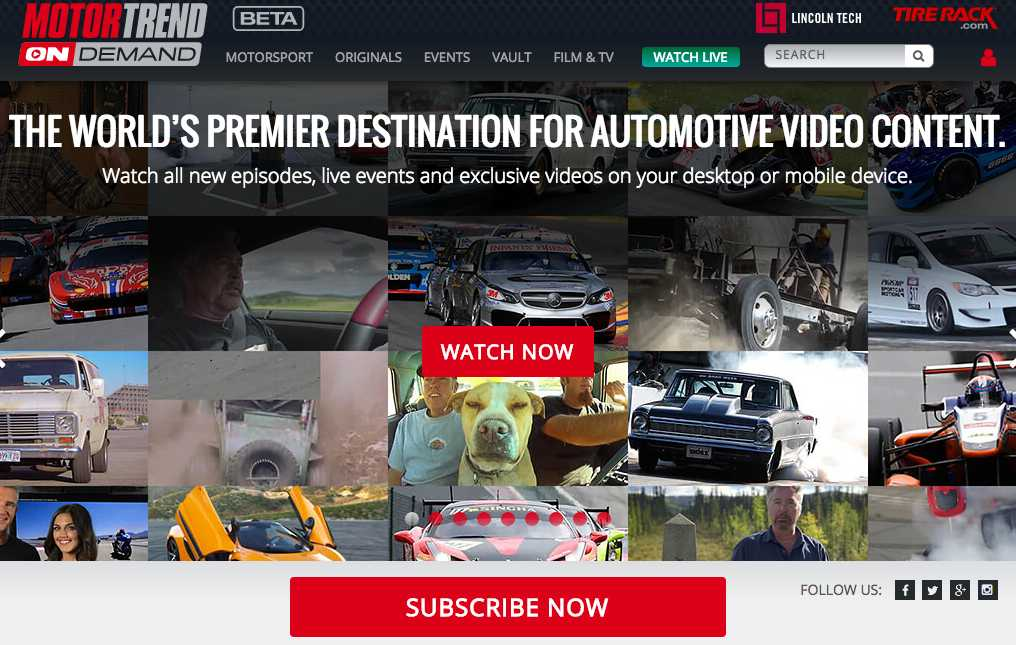 Ten chooses kaltura and 3 screen for svod service for Is motor trend on demand worth it