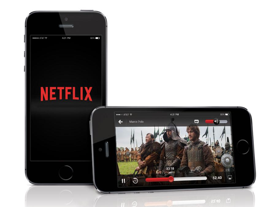 Netflix-Mobiles