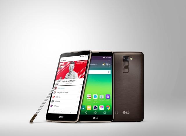 LG Stylus2 DAB+