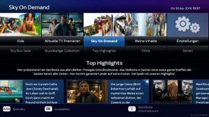Sky On Demand EntertainTV
