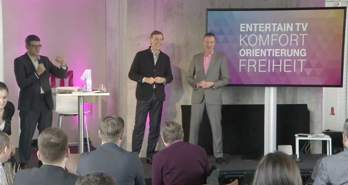 Telekom PK Entertain TV Plus Berlin 28 04 2016