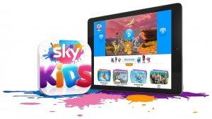 Sky D Kids app