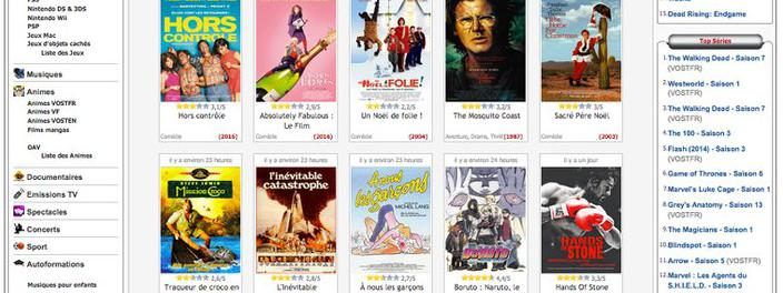 Gendarmerie closes French pirate VOD site