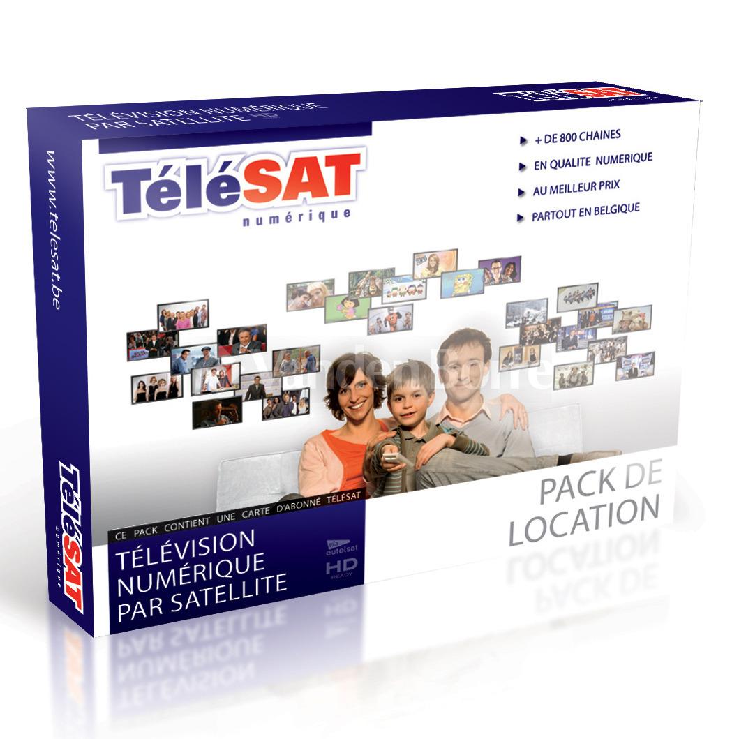 Carte Belgique Hd.Telesat Pack