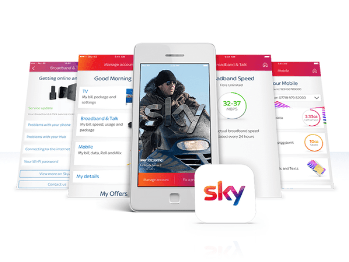 Sky adds messenger to My Sky app