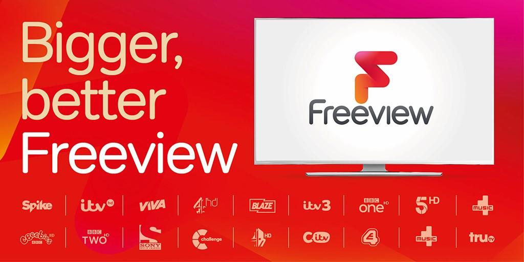 Η βρετανική πλατφόρμα Freeview ετοιμάζεται για τολμηρές αλλαγές.