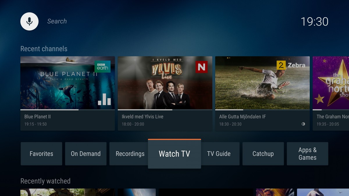 Canal Digital launches Android TV UI with 3SS