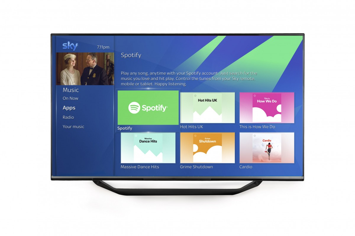 Sky to launch integrated Spotify billing