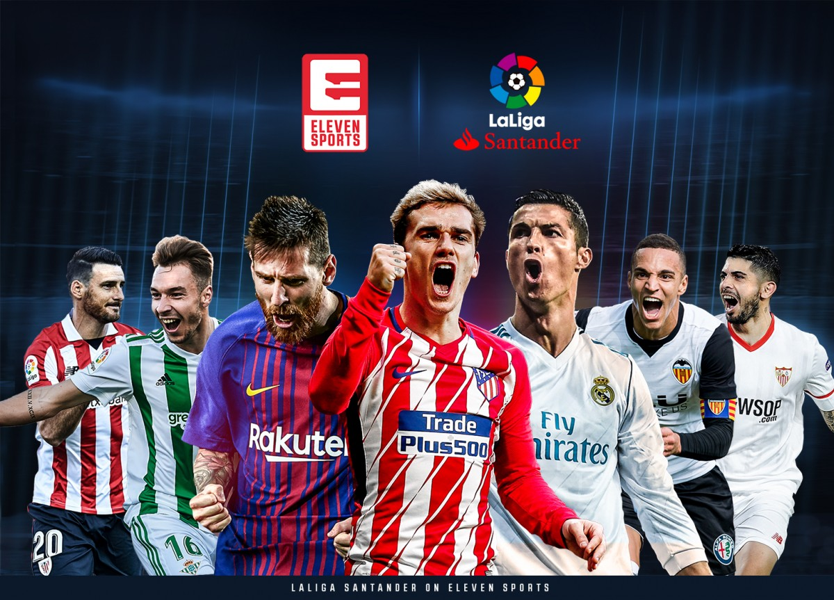 Eleven sports secures la liga rights for uk and ireland global sports provider eleven sports has secured live and exclusive rights to all matches from laliga santander in the uk and ireland stopboris Gallery