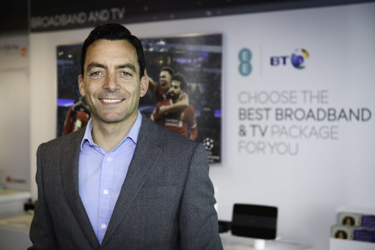 BT overhauls consumer business with bid to combine mobile and broadband