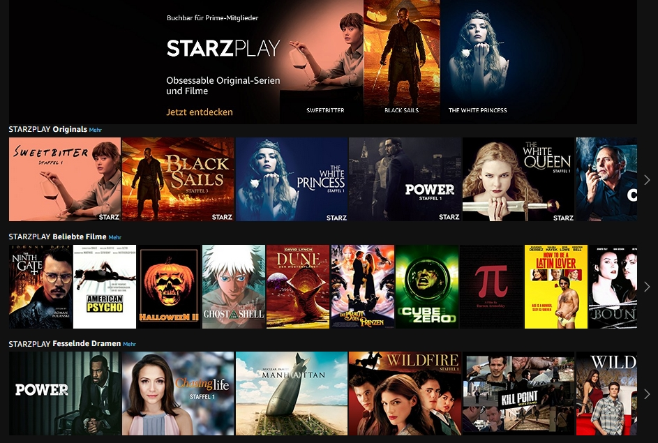 Starzplay app launches in five countries