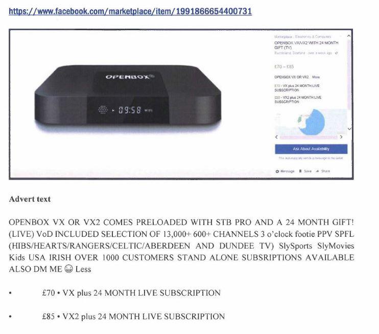 Digital IPTV pirate pays £50,000 in damages