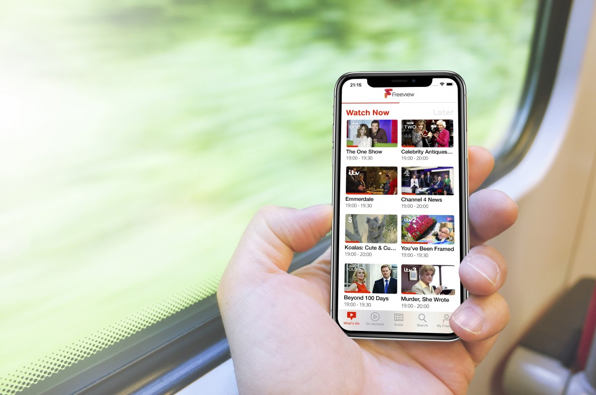 Freeview app goes live